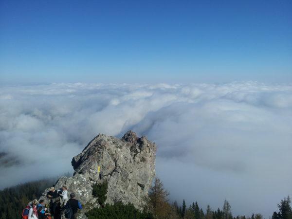 Túra a felhők felett – Schneeberg