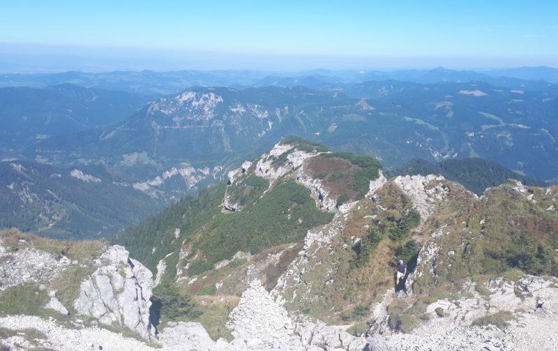 Apák az Apahegyen, azaz fel az Ötscher csúcsára
