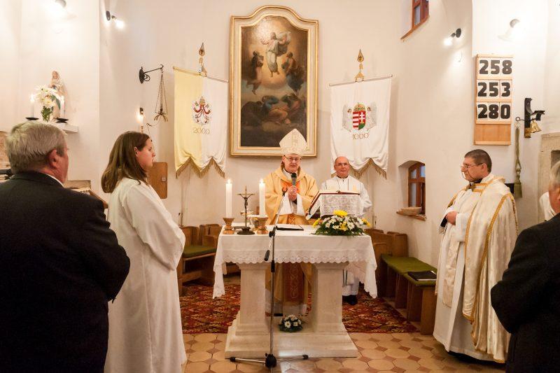 Püspöki szentmise Diósdon