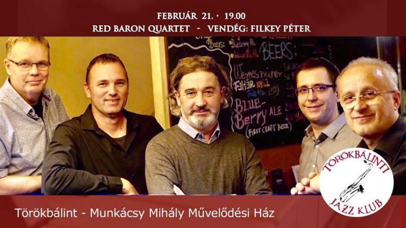 Igényes hangszerelés, dallamos improvizációk – A Red Baron Quartet Törökbálinton