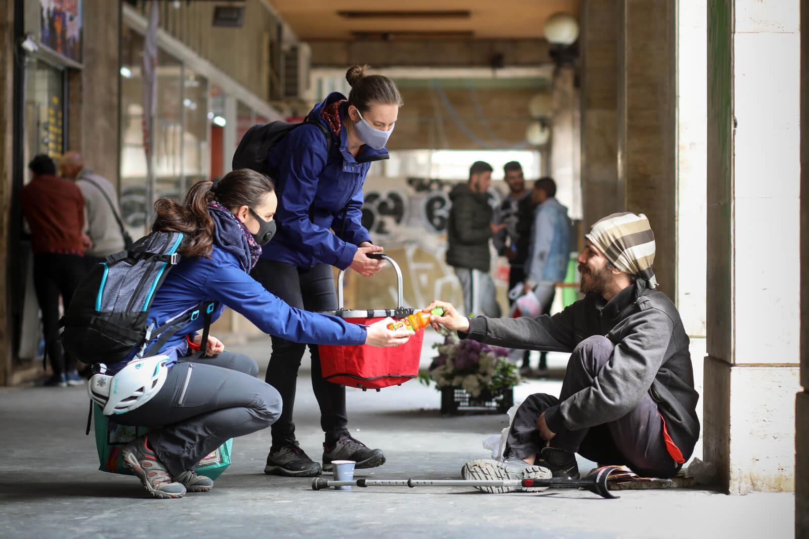Sant'Egidio közösség szegények segítés