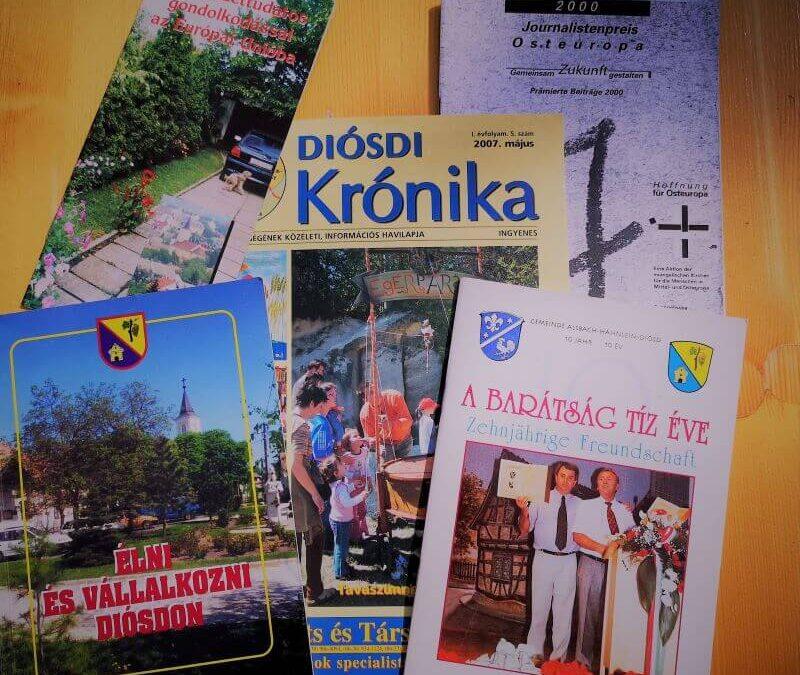Diósd újságok kiadványok Kiss Zoltán
