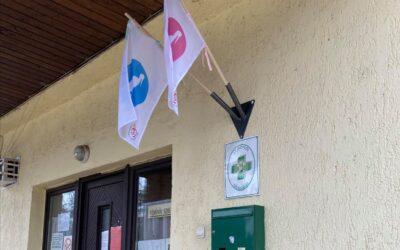 Babazászlóval köszöntik az újszülötteket Diósdon