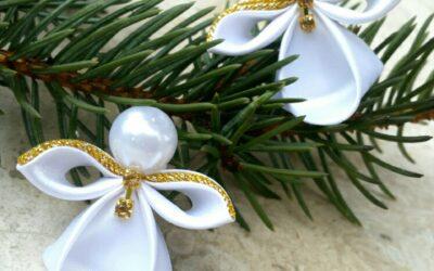 Karácsonyi ajándékkészítés otthon, a japán kanzashi technikával – Bemutatjuk Kánya Adriennt